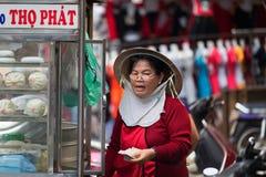 HO CHI MINH, VIETNAM - AUG 16, 2015: Cholon (Chinatown) in Ho Chi Minh, Vietnam Royalty Free Stock Photo