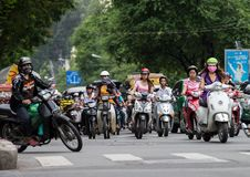Ho Chi Minh Ville, Saigon, Vietnam Photo stock
