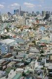 Ho Chi Minh wielki miasto w Wietnam Zdjęcia Stock