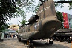 Amerykański Wietnamski Wojenny szczątka muzeum, Ho Chi Minh miasto, Wietnam Obraz Royalty Free