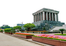 Ho- Chi MinhMausoleum in Hanoi, Vietnam Lizenzfreies Stockfoto