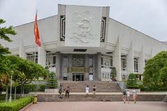 Ho- Chi Minhmuseum stockbilder