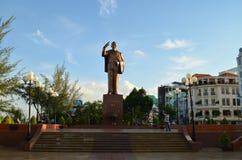 Ho- Chi Minhstatue Stockbild