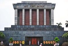 Ho Chi Minimalny Masoleum, Hanoi Obrazy Stock