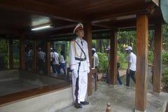 Ho Chi siedziby Minimalny muzeum Zdjęcia Royalty Free