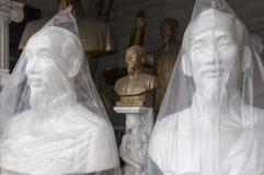 Ho Ci Minh busts shop Stock Images