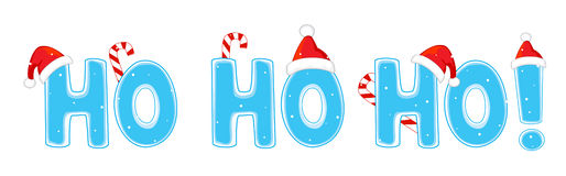 Ho de ho de Ho Photo stock