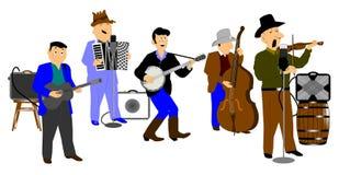 Ho down band Royalty Free Stock Image