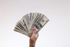Ho erhielt das Geld Lizenzfreies Stockbild