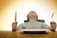 Ho fame! Fotografie Stock Libere da Diritti