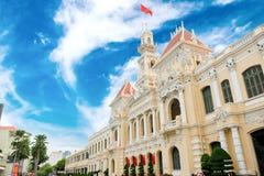Free Ho Ho Chi Minh City Hall Royalty Free Stock Photos - 131396488