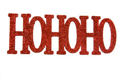 Ho, ho, ho Fotos de Stock Royalty Free