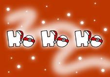 Ho ho ho. Christmas card Royalty Free Stock Photos