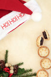 Ho Ho Ho Stock Photography