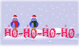 HO_HO_HO_HOOO! Stock Photography