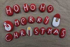 Ho ho ho, Marry Christmas Stock Photography