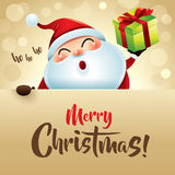 HO HO HO! Merry Christmas! Royalty Free Stock Image