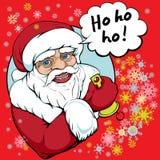 Ho ho ho santa Stock Image