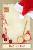 Ho Ho Ho Santas Coming Stock Images
