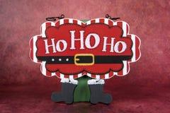 Ho, Ho, Ho Sign Royalty Free Stock Images