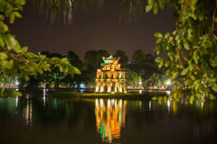 Ho Hoan Kiem Stock Photo