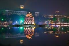 Ho Hoan Kiem, Hanoï images stock
