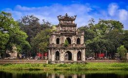 Ho Hoan Kiem, Hanoi, Vietnam Royalty-vrije Stock Afbeeldingen