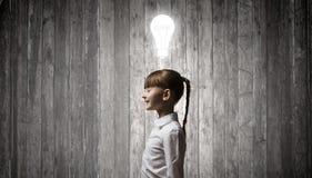 Ho idea luminosa Fotografia Stock Libera da Diritti