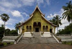 ho kham老挝luang prabang寺庙 免版税库存图片