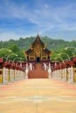 Ho Kham Luang, Chiang Mai,泰国 库存照片