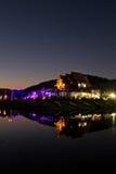 Ho Kham Luang all'Expo reale della flora Fotografie Stock Libere da Diritti