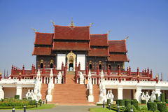 Ho Kham Luang building Royalty Free Stock Photo