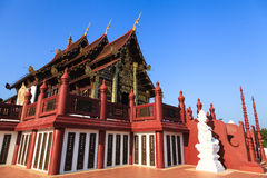 Ho kham luang in Chiang Mai, Thailand Royalty Free Stock Photo