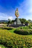 Ho Kham Luang - Flora Ratchaphruek reale alla mattina soleggiata Fotografie Stock
