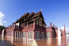 Ho kham luang in the international horticultural exposition 2011 Royalty Free Stock Images