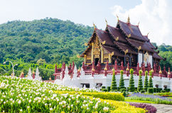 Ho kham luang in the international horticultural, the northern Stock Image