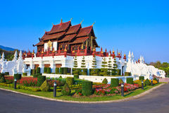 Ho Kham Luang. In the north of Thailand Stock Photography