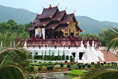 Ho kham luang northern thai style building Stock Photography