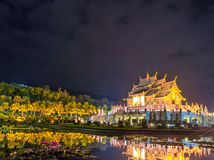Ho kham luang northern thai style building Royalty Free Stock Photos