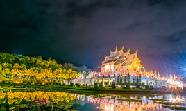 Ho kham luang northern thai style building Stock Images