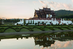 Ho kham luang northern thailand Royalty Free Stock Images
