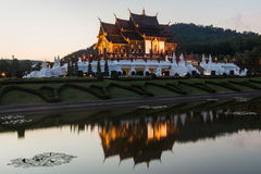 Ho kham luang northern thailand Royalty Free Stock Photos