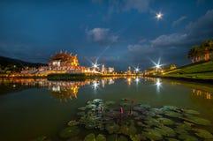 Ho kham luang, Royal Park Rajapruek, Chiangmai Stock Photos