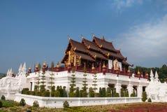 Ho kham luang, Royal Park Rajapruek, Chiangmai, Thailand Royalty Free Stock Image
