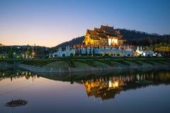 Ho kham luang, Royal Park Rajapruek, Chiangmai, Thailand Royalty Free Stock Photos