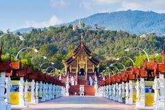 Ho Kham-luang thailändische Nordart in königlichem Flora ratchaphruek in Chiang Mai, Thailand lizenzfreies stockfoto