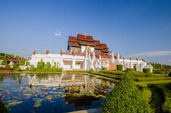 Ho Kham Luang Traditional thai architecture in the Lanna style Stock Photography