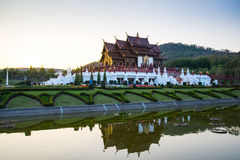 Ho luang de Kham, parc royal Rajapruek, Chiangmai, Thaïlande Images stock