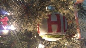 Ho Ho Merry Christmas royaltyfri foto