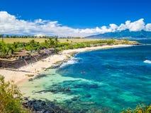 Free Ho`okipa Beach Park In Maui Hawaii, Windsurfing Site, Big Waves And Big Turtles Stock Photography - 162834822
